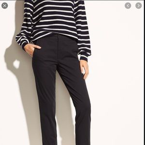 VINCE coin cropped chino vintage black sz 25